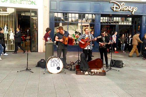 visiter Dublin en une journée Grafton Street