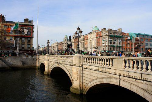 visiter Dublin en une journée O'Connell Bridge