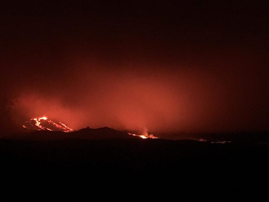 © Camille P - Eruption oct 2019 Piton de la Fournaise